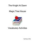 Magic Tree House The Knight At Dawn Really Fun Vocabulary ActivitieActivities