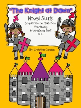 "Magic Tree House ""The Knight at Dawn"" Novel Study"