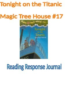 Tonight on the Titanic Book 17 Magic Tree House