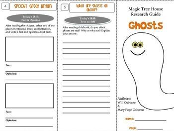 Ghosts Foldable Novel Study Unit