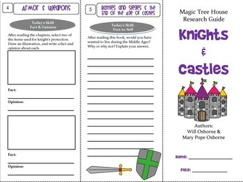 Knights, Castles, and the Middle Ages Foldable Novel Study Unit