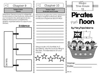 Pirates Foldable Novel Study Unit