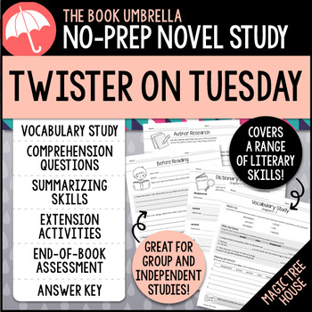 Twister on Tuesday - Magic Tree House