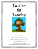 Magic Tree House: Twister on Tuesday Reading pack