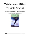 Magic Tree House Twisters and Other Terrible Storms -- a L