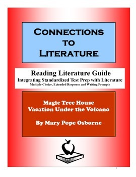 Magic Tree House Vacation Under The Volcano-Reading Literature Guide