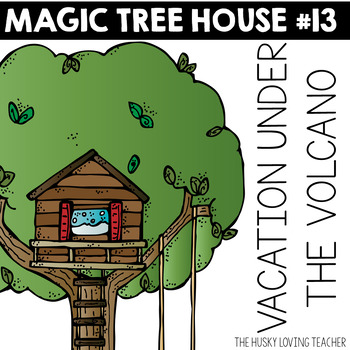 Magic Tree House: Vacation Under the Volcano
