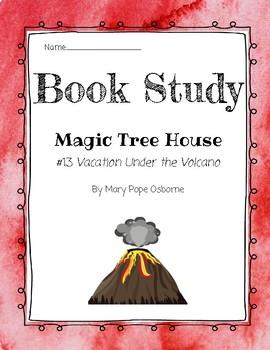 Magic Tree House: Vacation Under the Volcano Book Study FREEBIE