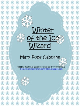 Magic Tree House- Winter of the Ice Wizard Novel Study