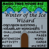 Magic Tree House Winter of the Ice Wizard  Novel Study  No Prep   Reading Lesson