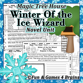 Magic Tree House - Winter of the Ice Wizard Novel Unit