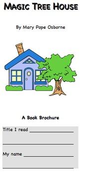 Magic Tree House book brochure