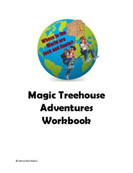 Magic Tree house Geography and History Notebook (Elementary Lines)