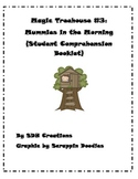 Magic Treehouse Book 3: Mummies in the Morning- Student Comprehension Booklet