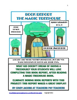 Magic Treehouse Book Report