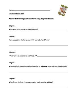 Magic Treehouse Books 1-5 Questions