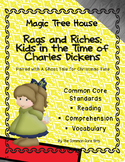 Magic Tree House Rags and Riches: No Prep Differentiated Instruction