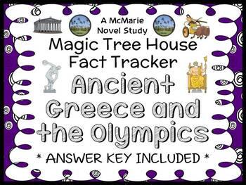 Magic Tree House Fact Tracker: Ancient Greece and Olympics (Osborne) Book Study