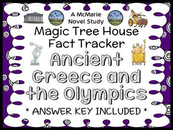 Magic Tree House Fact Tracker: Ancient Greece and Olympics (Osborne) Book Study