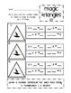Magic Triangles:2's
