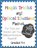Magic Tricks and Optical Illusions Packet