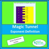 Magic Tunnel - Exponent Definition