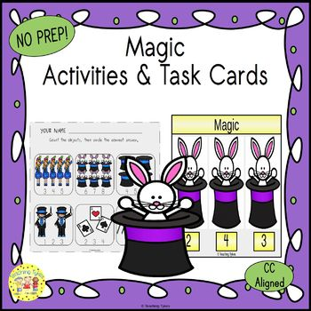 Magic Worksheets Activities Games Printables and More