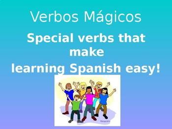 Magic Verbs - Presentation for V.I.P. 2.5