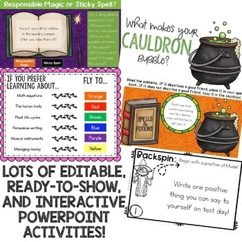 Magic/Wizard Classroom Guidance Lesson Bundle for Elementary School Counseling
