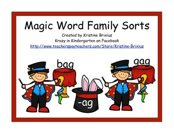 Magic Word Family Sorts