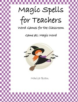 Magic Word Game - Using Letters to Explore Vocabulary and