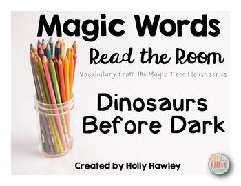 Magic Word-Read the Room Dinosaur Theme
