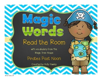Magic Word: Read the Room Pirate Theme