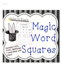 Magic Word Squares - Magic E, Vowel Teams, and beyond
