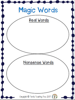 Build CVC Words/Nonsense Words