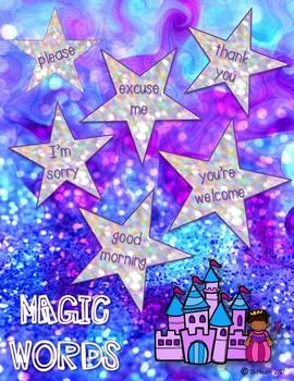 Magic Words Posters FREEBIE!