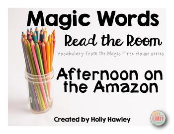 Magic Words- Read the Room Amazon theme