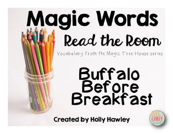 Magic Words- Read the Room Buffalo theme