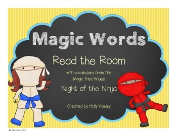 Magic Words- Read the Room Ninja Theme