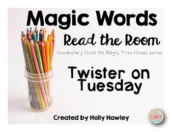Magic Words- Read the Room Twister theme