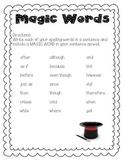 Magic Words for Better Sentences