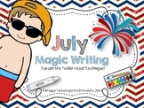 Magic Writing Center for July