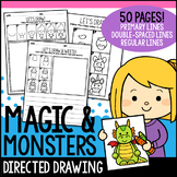 Magic and Monsters Directed Drawing