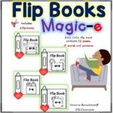 Magic-e /  4 Flip Books- 44 words