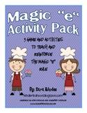 """Magic """"e"""" Activity Packet"""
