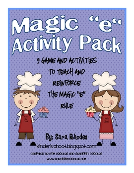 "Magic ""e"" Activity Packet"