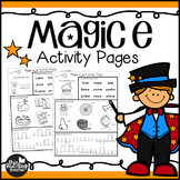 Magic e Activity Pages {CVCe Words}