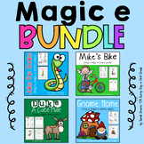 Magic e BUNDLED! {4 long vowel packs!}