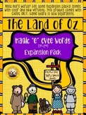 "Magic ""e"" CVCe Words EXPANSION PACK for The Land of Oz Sight Word Game"