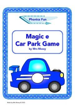 Magic e Car Park Phonics Game